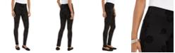 Style & Co Plus Size Floral-Print Ponté-Knit Leggings, Created for Macy's