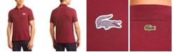 Lacoste Men's Classic Fit Tattersall-Logo Piqué Polo Shirt