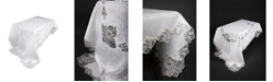 "Xia Home Fashions Antebella Lace Embroidered Cutwork Tablecloth, 72"" x 120"""