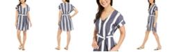 Roxy Juniors' Cotton Hear Me Now Striped Dress