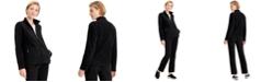 Karen Scott Zip-Up Zeroproof Fleece Jacket, Created for Macy's