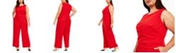 Calvin Klein Plus Size Wide-Leg Jumpsuit