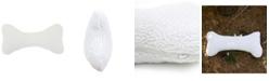 Carolina Pet Company Sherpa Bone Pillow Toy, Medium