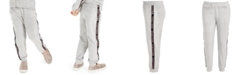Ideology Little Girls Side-Taped Velour Sweatpants, Created for Macy's