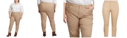 Lauren Ralph Lauren Plus Size Stretch Chino Jodhpur Pants