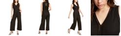 Monteau Petite Lattice-Detail Linen-Blend Jumpsuit