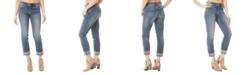 Nicole Miller New York Tribeca Melville Mid-Rise Straight-Leg Jeans