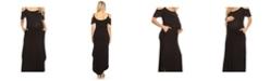 White Mark Maternity Lexi Maxi Dress