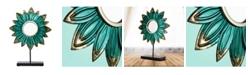 Crystal Art Gallery American Art Decor Flower Daisy Table Top Sculpture Decor