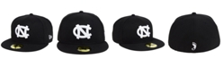 New Era North Carolina Tar Heels Core Black White 59FIFTY Fitted Cap