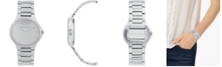 Rebecca Minkoff Women's Cali Stainless Steel Bracelet Watch 34mm