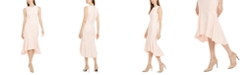 Calvin Klein Flounce Midi Dress