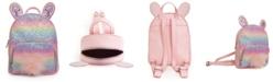 OMG! Accessories Rainbow Glitter Bunny Mini Backpack