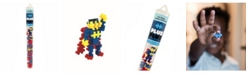 Plus-Plus - 70 Piece Superhero Assortment Building Set Mini Maker Tube