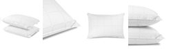 Calvin Klein Grid Logo Down Alternative Pillow, Standrad/Queen