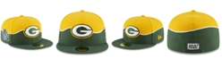 New Era Green Bay Packers 2019 Draft 59FIFTY Fitted Cap