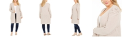 INC International Concepts INC Plus Size Puff-Sleeve Completer Cardigan, Created For Macy's