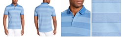 Calvin Klein Men's Liquid Touch Bar Stripe Polo Shirt