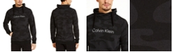 Calvin Klein Men's CK Move 365 Camo Patterned Hoodie