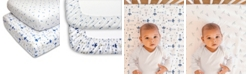 The Peanutshell PS by Blue Rockets and Stars Crib Sheet 2-Pack
