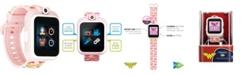 iTouch Kids PlayZoom DC Comics Blush Wonder Woman Symbol Strap Touchscreen Smart Watch 42x52mm
