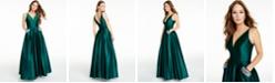 Blondie Nites Juniors' Embellished-Pocket Gown