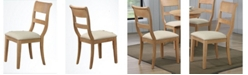 ICONIC FURNITURE Upholstered Dining Side Chair, Set of 2