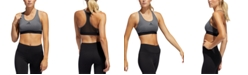 adidas Women's Alphaskin Racerback Medium-Support Sports Bra