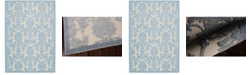 """Long Street Looms Chimeras CHI03 Ivory 5'3"""" x 7'5"""" Area Rug"""