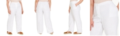 Eileen Fisher Plus Size Organic Pull-On Pants