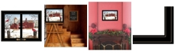 Trendy Decor 4U Trendy Decor 4u Winter Friends by Billy Jacobs, Ready to Hang Framed Print Collection