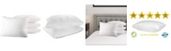 Mastertex Bed Pillow, Standard - 4 Pieces
