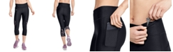Under Armour HeatGear® Printed-Panel Leggings