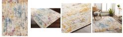 "Abbie & Allie Rugs Floransa FSA-2330 Yellow 5'3"" x 7'1"" Area Rug"