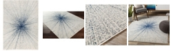 """Abbie & Allie Rugs Chester CHE-2306 Silver 5'3"""" x 7'3"""" Area Rug"""