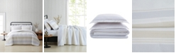 Cottage Classics Spa Stripe Twin XL 2 Piece Comforter Set
