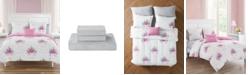 Sanders Jessica Unicorn Party Full 7 Piece Comforter Set