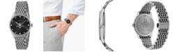 Gucci Women's Swiss G-Timeless Slim Stainless Steel Bracelet Watch 36mm