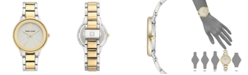 Anne Klein Women's Two-Tone Bracelet Watch 37mm