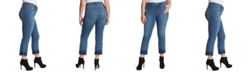 Jessica Simpson Trendy Plus Size Arrow Ankle Jeans