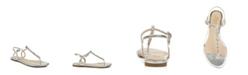 Jewel Badgley Mischka Women's Natalie Evening Flat Sandal