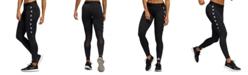adidas Women's Alphaskin Logo Compression Leggings