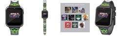 Accutime Kid's Star Wars Baby Yoda Gray Silicone Strap Smart Watch 46x41mm