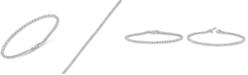 Macy's Diamond Tennis Bracelet (3 ct. t.w.) in 14K White Gold