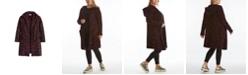 Adyson Parker Women's Plus Size Giraffe Print Hooded Cardigan