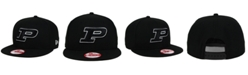 New Era Purdue Boilermakers Black White 9FIFTY Snapback Cap