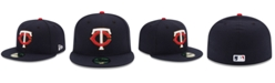 New Era Kids' Minnesota Twins Authentic Collection 59FIFTY Cap