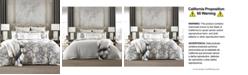 Tommy Hilfiger Broadmoor Cotton Reversible Floral King Duvet Cover Set