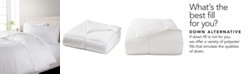 Martha Stewart Collection  CLOSEOUT! Ultra Comfort Twin Down Alternative Comforter, Created for Macy's