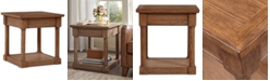 Furniture CLOSEOUT! Irene End Table, Quick Ship